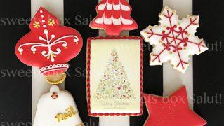 クリスマスアイシングクッキーセット【RED】【GREEN】