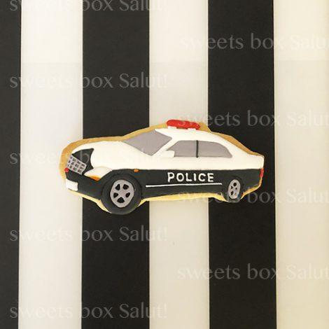 警察官の方へのプレゼント用アイシングクッキー1