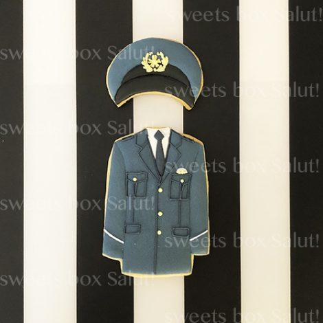 警察官の方へのプレゼント用アイシングクッキー2
