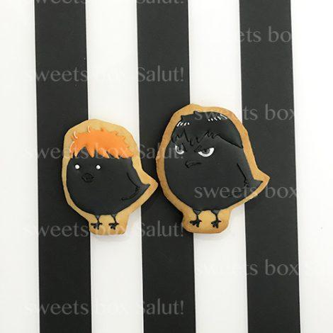 「ハイキュー!!」キャラクタ—のアイシングクッキー2