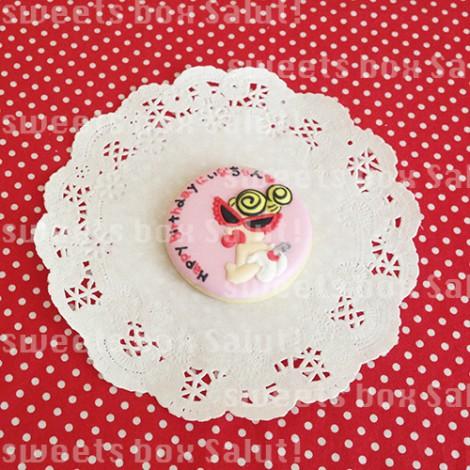 ヒスミニちゃんのお誕生日用アイシングクッキー
