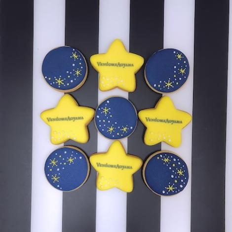 ヴァンドームヤマダ様のノベルティ用アイシングクッキー