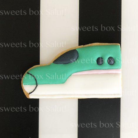 新幹線のアイシングクッキー1