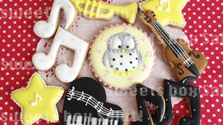 オーケストラ演奏会ギフト用アイシングクッキー