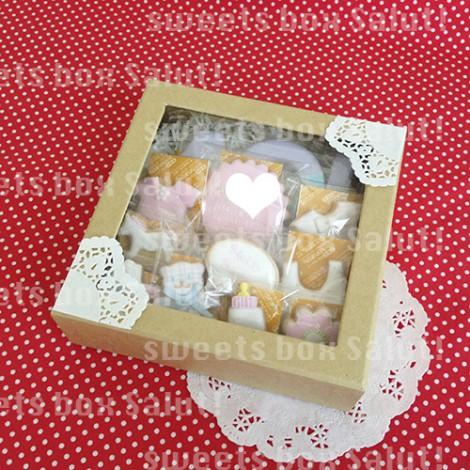 Baby girl 誕生祝いのアイシングクッキー6