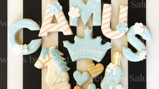 誕生日プレゼント用アイシングクッキー