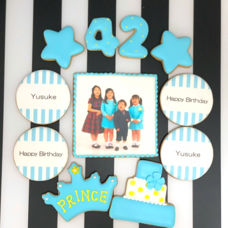 みんなの製作実績①誕生日アイシングクッキーセット2