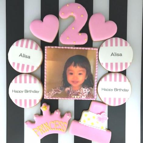 みんなの製作実績①誕生日アイシングクッキーセット3