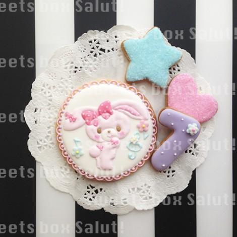 ぼんぼんりぼんのお誕生日用アイシングクッキー1