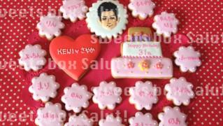 "EXILE""KEIJI""さんファンへのお誕生日アイシングクッキー"