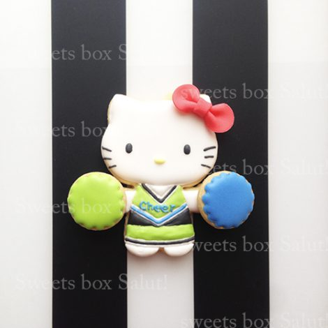 チア☆キティのアイシングクッキー1