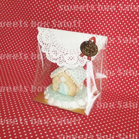 アイシングクッキーで作るクリスマスツリーとミニへクセンハウス5