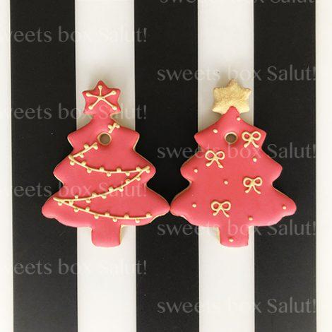 アイシングクッキーのクリスマスオーナメント5