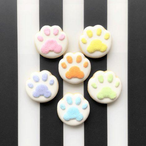 肉球アイシングクッキー(6枚セット)1