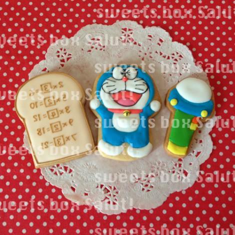 ドラえもんのお誕生日用アイシングクッキー2