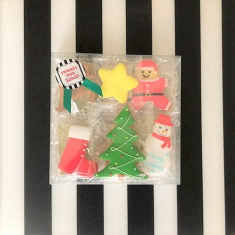 クリスマスなアイシングクッキーたち1