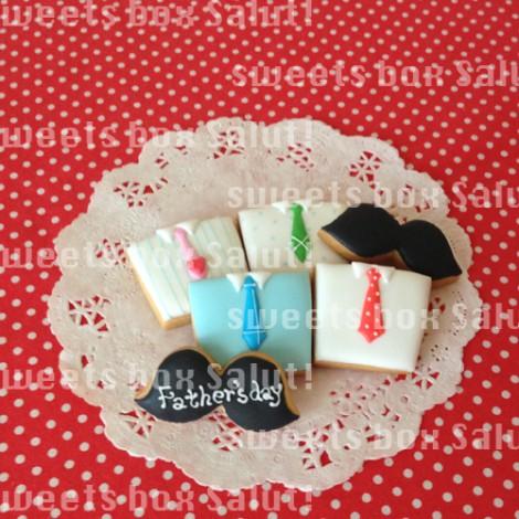 父の日のアイシングクッキー2