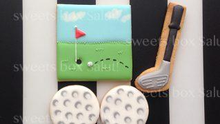 ゴルフのアイシングクッキー