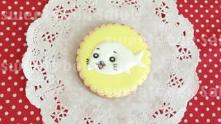 ゴマちゃんのアイシングクッキー