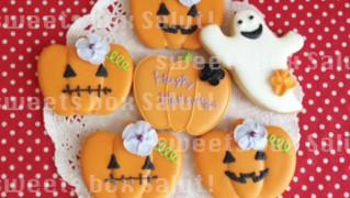 ハロウィンかぼちゃのアイシングクッキー