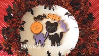 ハロウィン黒猫のアイシングクッキー 2013ver.