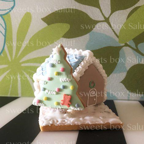 クリスマスアイシングクッキーヘクセンハウス