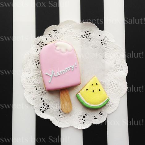 アイスクリームのアイシングクッキー6