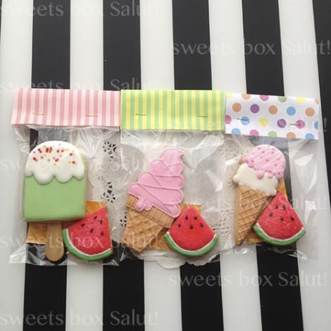 アイスクリームのアイシングクッキー8