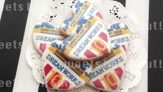 JUNK FOODさま 10周年記念プリントアイシングクッキー