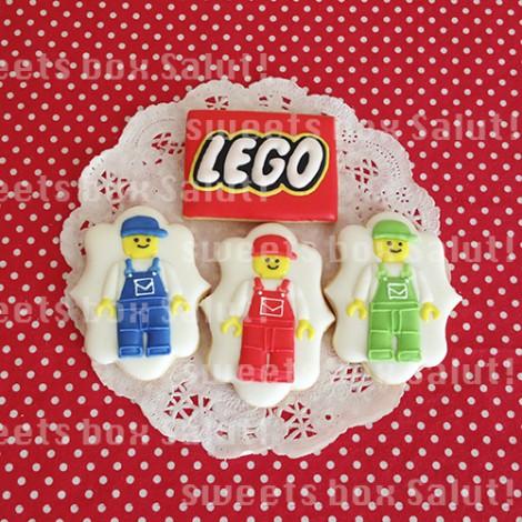 レゴブロックのアイシングクッキー2