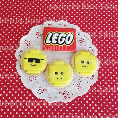 レゴブロックのアイシングクッキー3