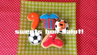 FC東京ユニフォームのアイシングクッキー