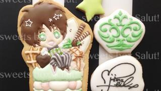 「うたの☆プリンスさまっ♪  」キャラのアイシングクッキー