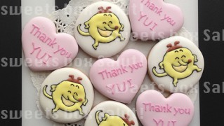 """絵本「へんてこもり」シリーズ""""まるぼ""""のアイシングクッキー"""
