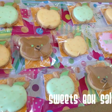 梨とくまのアイシングクッキー4