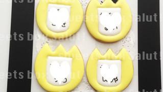 幼稚園・保育園 名札のアイシングクッキー