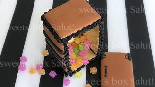 「禰豆子の箱」立体アイシングクッキー