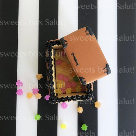 「禰豆子の箱」立体アイシングクッキー1