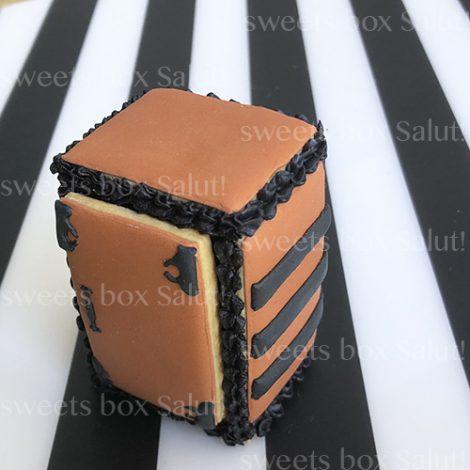 「禰豆子の箱」立体アイシングクッキー2