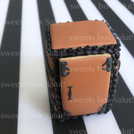 「禰豆子の箱」立体アイシングクッキー3