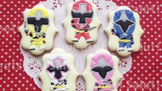 ニンニンジャーのアイシングクッキー