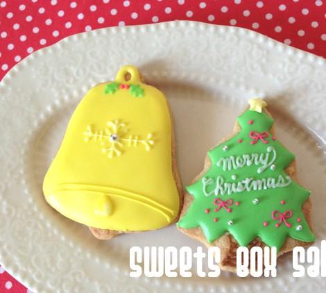 ディズニーキャラとクリスマスのアイシングクッキー7