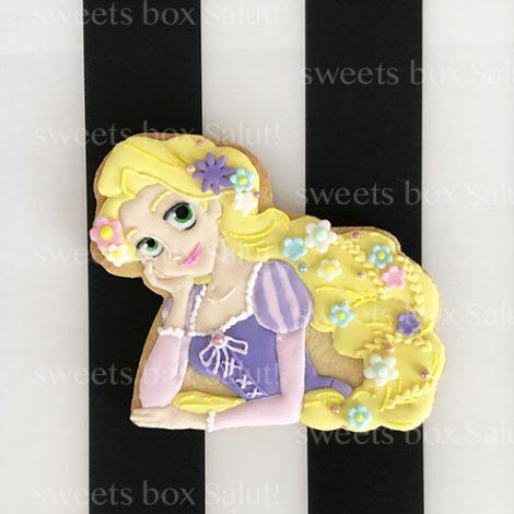 プリンセスとお花のアイシングクッキー2