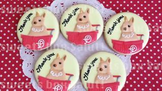 ピョンパレちゃんのアイシングクッキー
