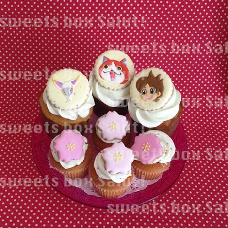 ランドセルがかっこいい!入学祝いのカップケーキ3
