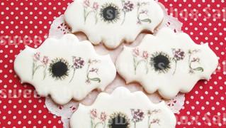 アート作品モチーフのプリントアイシングクッキー