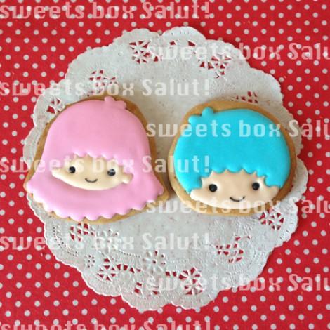 キティちゃん、マイメロちゃん、サンリオキャラのアイシングクッキー2