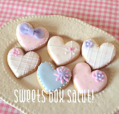 simple&cuteなアイシングクッキー