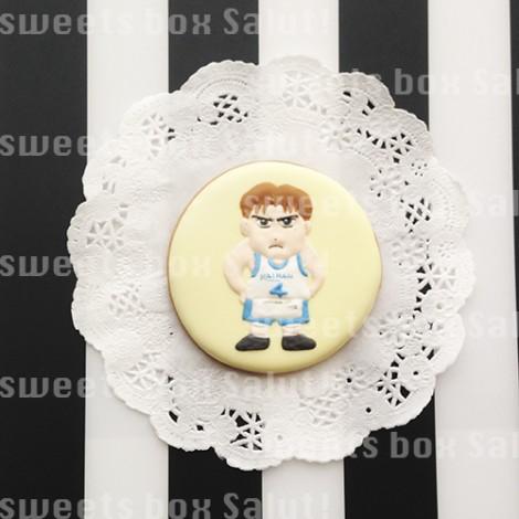 「スラムダンク」のお誕生日用アイシングクッキー3