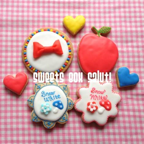 白雪姫のアイシングクッキー4